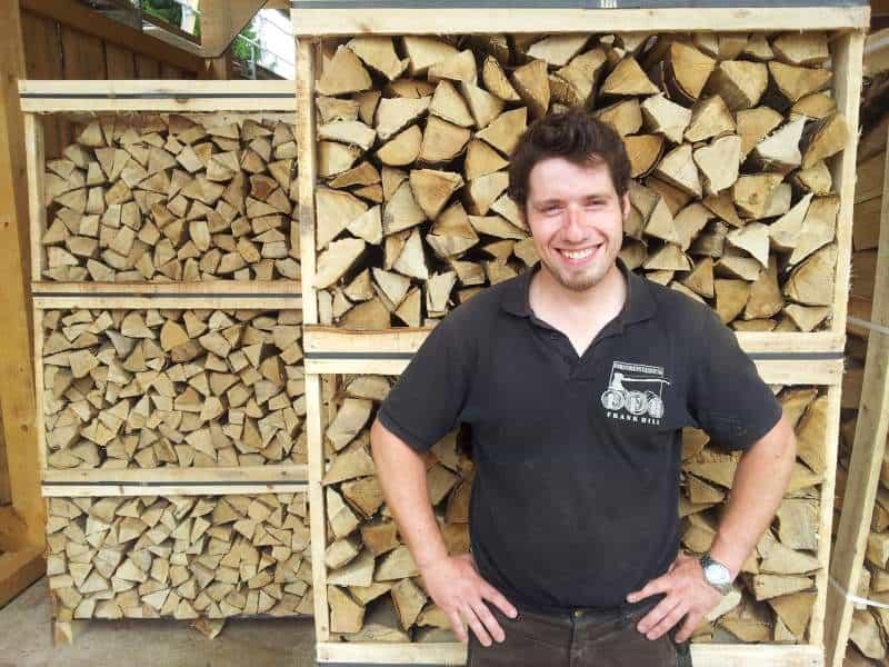 Super Brennholz 🔥 Kaminholz aus Polen & Tschechien günstig kaufen - LKW #XO_33