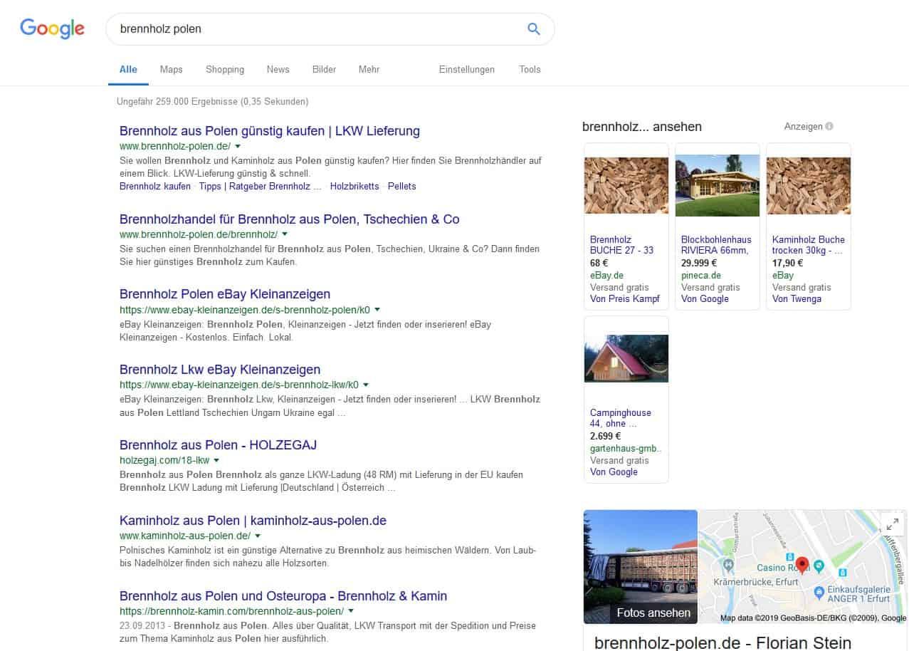 Brennholz Verkaufen Auf Brennholz Polen De Jetzt Lieferant Werden