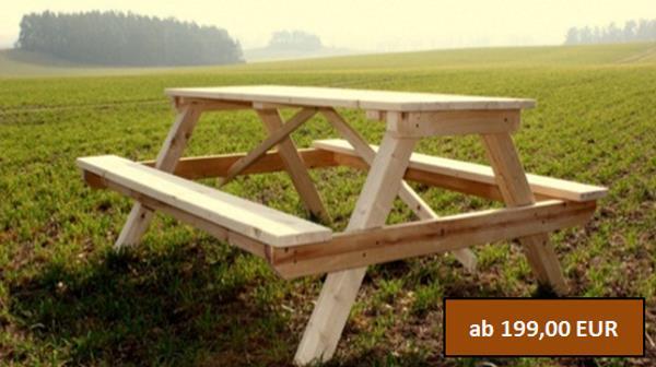 Rustikale Massive Gartenmöbel Aus Polen Günstig Kaufen